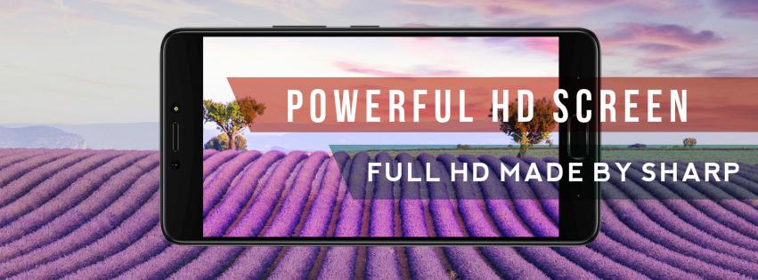 powerful hd screen infinix made by sharp