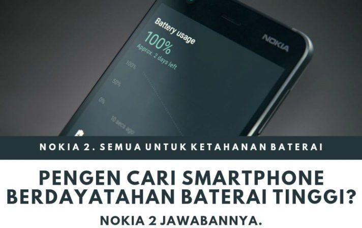 nokia 2 smartphone berdaya tahan tinggi