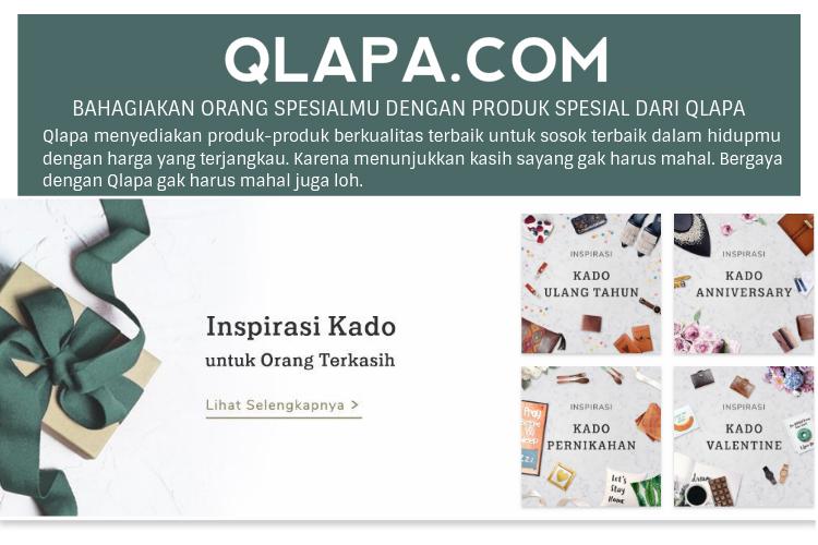 Qlapa menyediakan produk-produk berkualitas terbaik untuk sosok terbaik dalam hidupmu. Bergaya tidak harus mahal bersama QLAPA