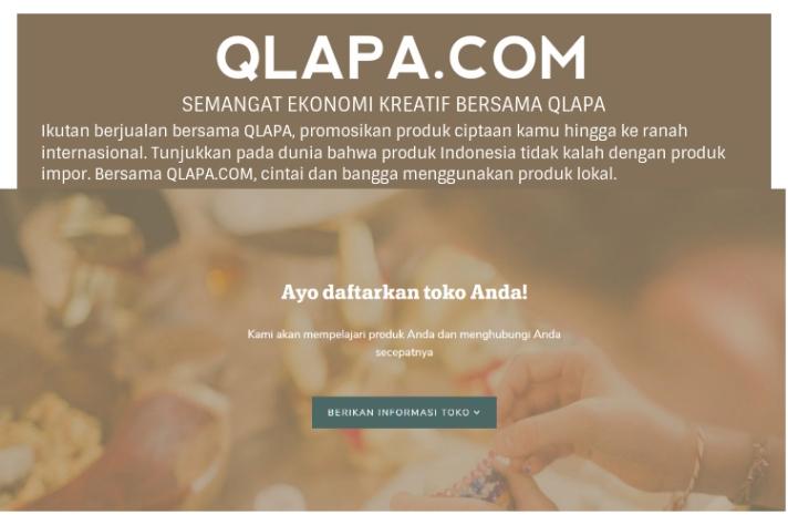 Semangat ekonomi kreatif bersama QLAPA